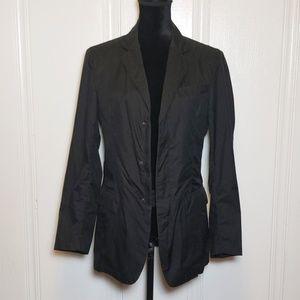 Prada Black Athletic Blazer Jacket